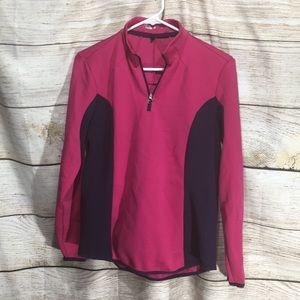 Nike Golf Pink 1/4 zip jacket pink size medium